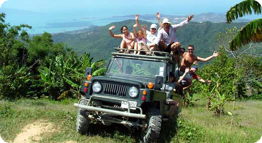 Adventurous Jeep Safari Trip
